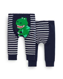 Infant 2-Pack Dinosaur Leggings