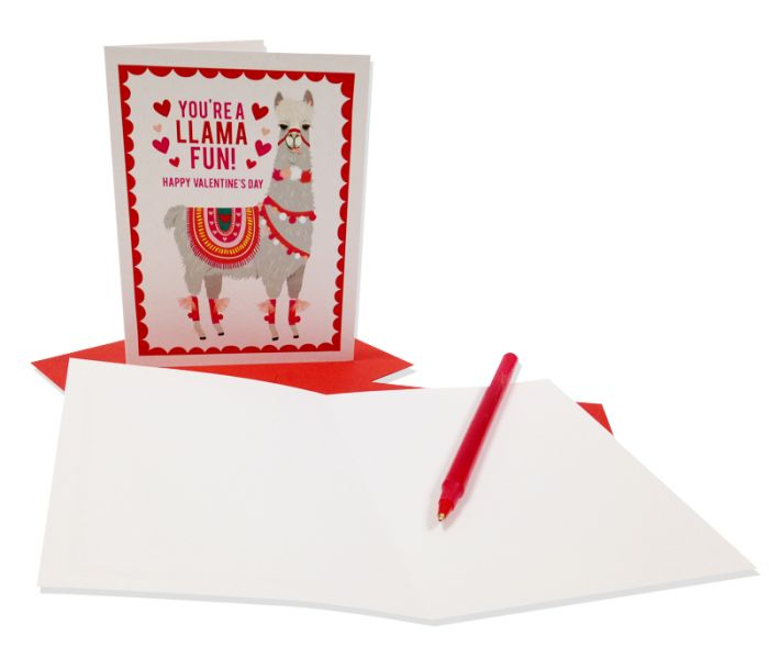 You Re A Llama Fun Valentine S Day Card Amnh Shop