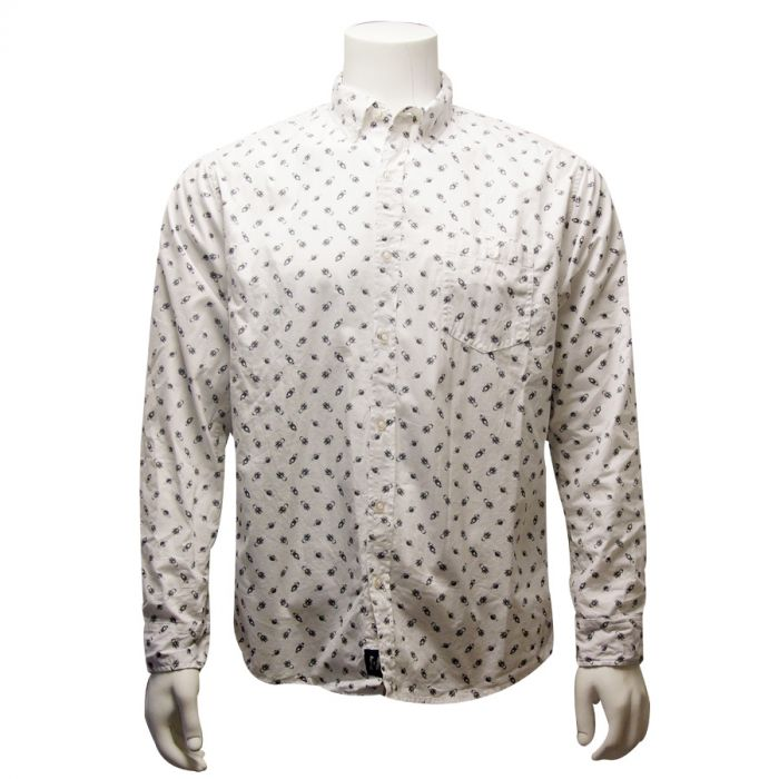 Adult Space Icons Long Sleeve Shirt
